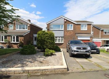 Thumbnail 4 bed detached house for sale in Newlyn Drive, Cramlington