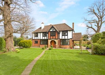 Thumbnail 4 bed detached house for sale in Wilmerhatch Lane, Epsom, Surrey