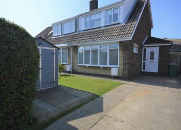 Thumbnail 3 bed semi-detached house for sale in Grimston Road, Hunmanby, Filey