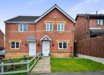 Thumbnail 3 bed semi-detached house for sale in Mercia Court, Huthwaite, Sutton-In-Ashfield, Notts