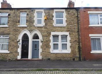 Thumbnail 3 bed terraced house to rent in Connaught Road, Preston