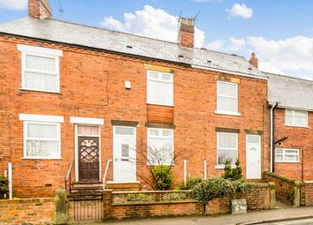 Thumbnail 2 bed terraced house for sale in Queen Victoria Road, New Tupton, Chesterfield