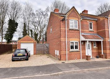 Thumbnail 3 bed semi-detached house for sale in Kings Court, Kirton, Boston