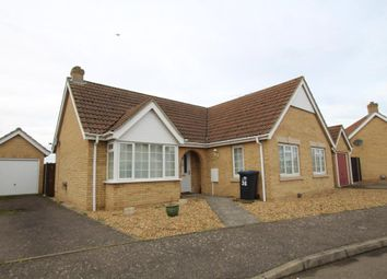 Thumbnail 3 bed detached bungalow for sale in Meadow Way, Mepal, Ely