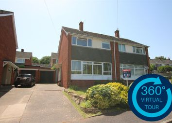 Thumbnail 3 bedroom semi-detached house for sale in Woodbury View, St Thomas, Exeter