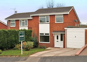 Thumbnail 3 bed semi-detached house for sale in Cardinal Crescent, Bromsgrove