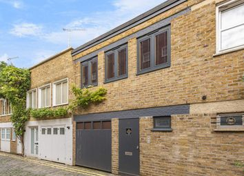 Thumbnail 3 bed mews house for sale in St. Petersburgh Mews, London