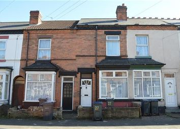 Thumbnail 2 bedroom terraced house for sale in Albert Road, Stechford, Birmingham