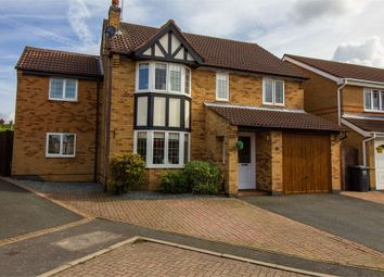Thumbnail 4 bed detached house for sale in Robinson Way, Markfield, Leicestershire