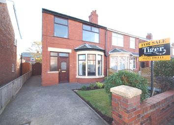 Thumbnail 3 bed semi-detached house for sale in Selby Avenue, Blackpool