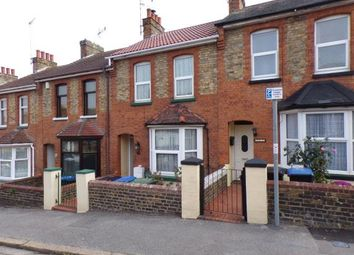 Thumbnail 2 bed terraced house for sale in Percy Road, Ramsgate, Kent