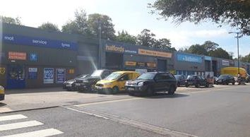 Retail premises to let in Basingstoke Trade Park, Worting Road, Basingstoke, Hampshire RG21