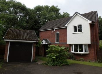 Thumbnail 3 bed detached house to rent in Newborough Close, Callands, Warrington