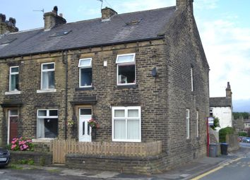 Thumbnail 4 bed end terrace house for sale in South Bank, Queensbury, Bradford