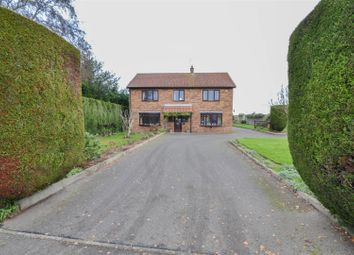 Thumbnail 4 bed detached house for sale in Backgate, Cowbit, Spalding