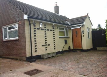 Thumbnail 2 bed bungalow to rent in Coronation Hill, Epping