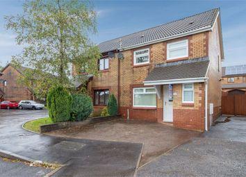 Thumbnail 3 bed semi-detached house for sale in Cae Rhedyn, Rhos, Pontardawe, Swansea, West Glamorgan