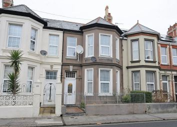 Thumbnail 4 bedroom terraced house for sale in Mount Gould Road, Plymouth