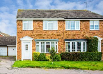 Thumbnail 3 bed semi-detached house for sale in Windmill Close, Buckingham