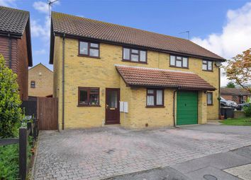 Thumbnail 3 bedroom semi-detached house for sale in Stevens Road, Eccles, Aylesford, Kent