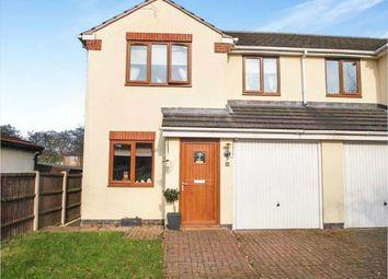 Thumbnail 3 bed semi-detached house for sale in Crompton Road, Bilsthorpe, Newark, Nottinghamshire