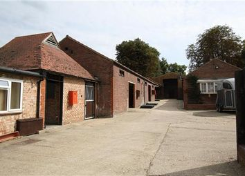 Thumbnail Equestrian property to rent in Linden Lodge Stables, Rowley Drive, Newmarket