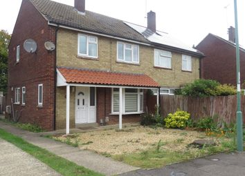 Thumbnail Property to rent in Chaucer Road, Peterborough