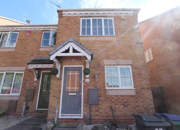 Thumbnail 2 bed end terrace house to rent in Delamere Drive, Walsall
