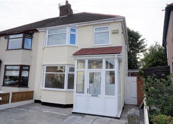 Thumbnail 3 bed semi-detached house for sale in Norville Road, Liverpool