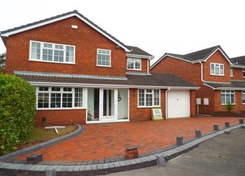 Thumbnail 4 bed detached house to rent in Westwoods Hollow, Burntwood