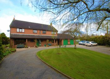 Thumbnail 5 bed detached house for sale in Lower Leigh, Leigh, Stoke-On-Trent