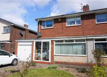 Thumbnail 3 bed semi-detached house for sale in Feetham Avenue, Newcastle Upon Tyne