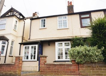 Thumbnail 3 bedroom semi-detached house for sale in Alleyns Road, Stevenage