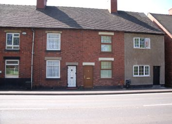 Thumbnail 2 bedroom terraced house to rent in Watling Street, Wilnecote, Tamworth, Staffordshire