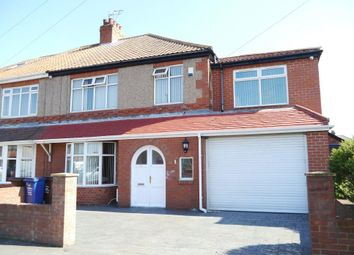 Thumbnail 4 bed semi-detached house for sale in Two Ball Lonnen, Fenham, Newcastle Upon Tyne