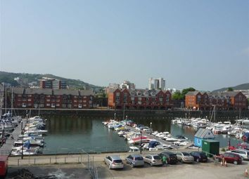 Thumbnail 2 bed flat for sale in Abbottsford House, Trawler Road, Swansea