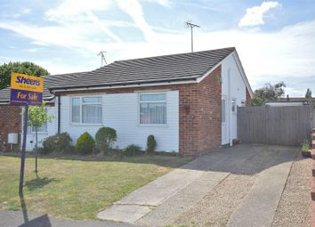 Thumbnail 2 bed semi-detached bungalow for sale in Alexandra Road, Weeley, Clacton-On-Sea