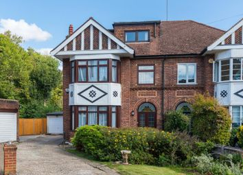Thumbnail 5 bed semi-detached house for sale in Oakdene Park, Finchley
