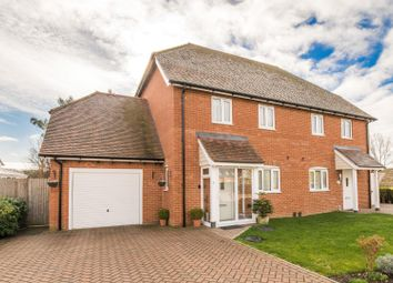 Thumbnail 3 bed semi-detached house for sale in Kingfisher Place, Chartham, Canterbury