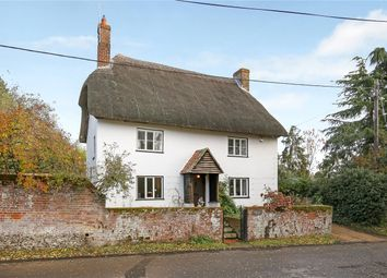 Thumbnail 3 bed detached house for sale in Church Lane, Houghton, Stockbridge, Hampshire