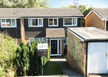 Thumbnail 3 bed end terrace house for sale in Solent Close, Chandler's Ford, Eastleigh, Hampshire