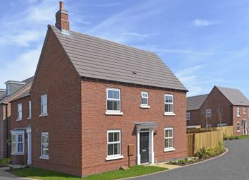 "Thumbnail 3 bed detached house for sale in ""Hadley"" at Flaxland Way, Corby"