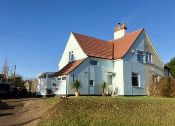 Thumbnail 3 bed semi-detached house for sale in Swafield, North Walsham, Norfolk