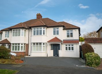 Thumbnail 5 bed property for sale in Wickham Avenue, North Cheam, Sutton