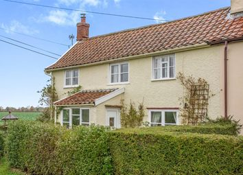 Thumbnail 2 bedroom cottage for sale in North Green Road, Pulham St. Mary, Diss