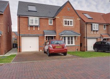 Thumbnail 4 bedroom detached house for sale in Old School Drive, Newcastle Upon Tyne