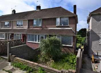 Thumbnail 3 bed end terrace house for sale in Vicarage Gardens, Plymouth