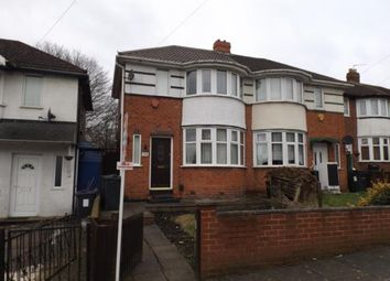 Thumbnail 2 bedroom semi-detached house for sale in Haycroft Avenue, Ward End, Birmingham, West Midlands