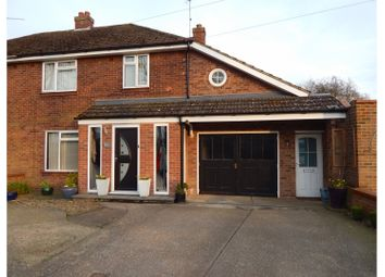 Thumbnail 4 bed semi-detached house for sale in Tennyson Road, King's Lynn