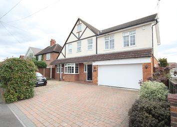 Thumbnail 5 bed detached house to rent in The Folly, Red Road, Lightwater